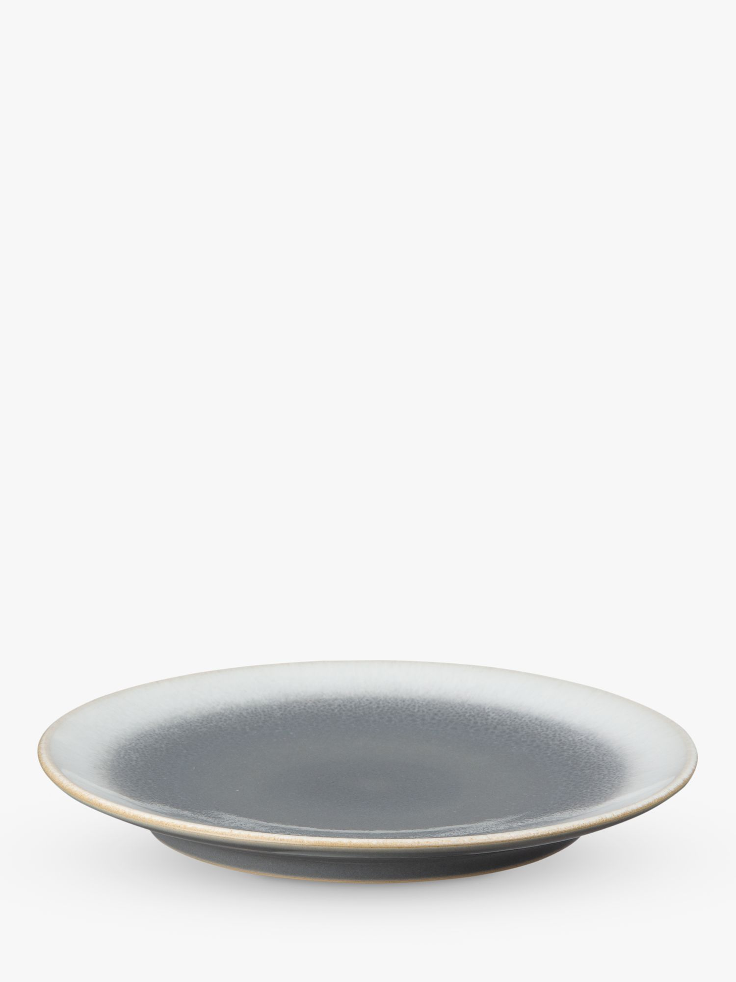 Denby Denby Modus Ombre Curved Medium Plate, 22cm, Natural