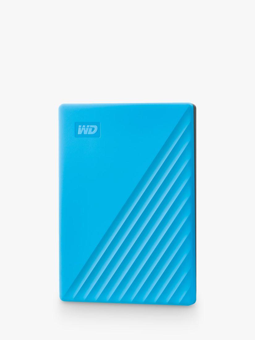 Western Digital Western Digital My Passport Portable Hard Drive, 2TB, Blue