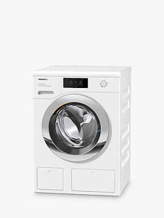 Miele WER865WPS Freestanding Washing Machine, 9kg Load, 1600rpm, A+++ Energy Rating, White