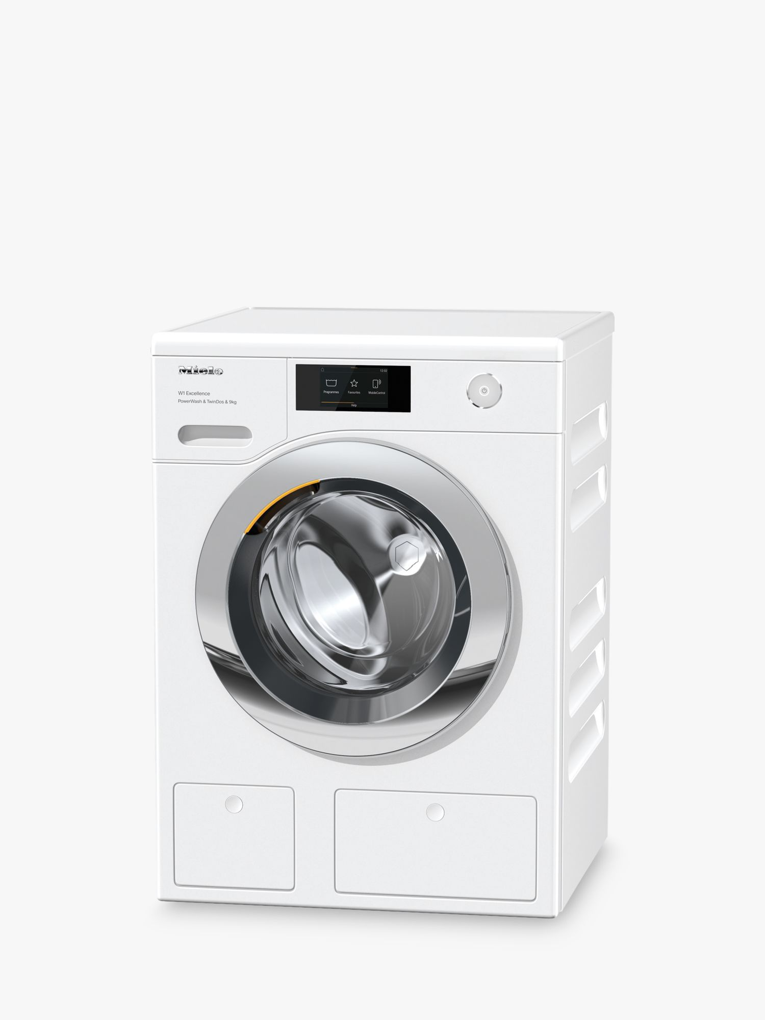 Miele Miele WER865WPS Freestanding Washing Machine, 9kg Load, 1400rpm, A+++ Energy Rating, White