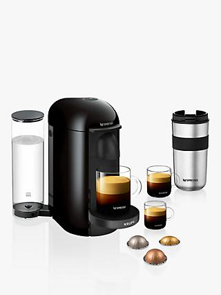 Nespresso Vertuo Plus XN903840 Coffee Machine by Krups with Pods
