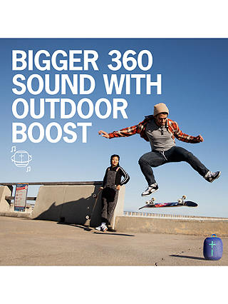 Buy Ultimate Ears WONDERBOOM 2 Bluetooth Waterproof Portable Speaker, Unicorn Online at johnlewis.com