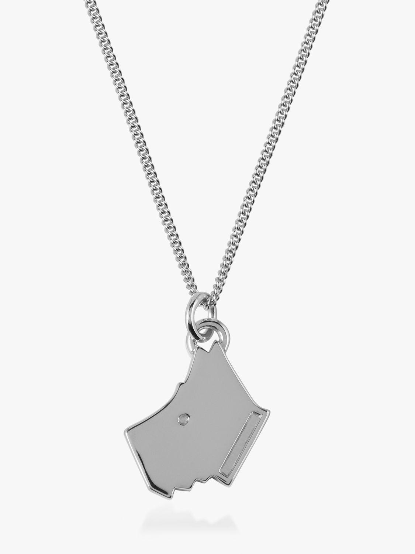 Radley Radley Love Radley Dog Pendant Necklace