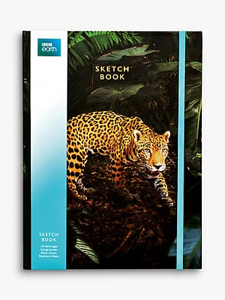 BBC Earth A4 Jaguar Sketch Book