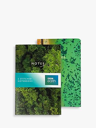 BBC Earth Ariel View Notebooks, Set of 2