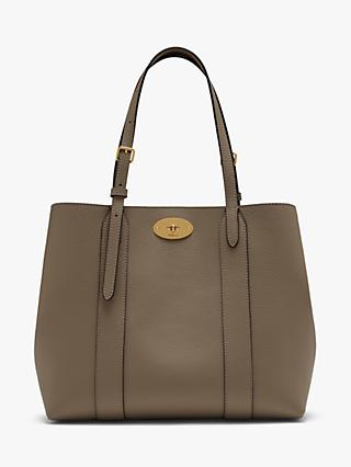 Mulberry Small Bayswater Classic Grain Leather Tote Bag