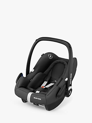 Maxi-Cosi Rock Group 0+ i-Size Essential Black Car Seat and FamilyFix2 Group 0+/1 Car Seat Base