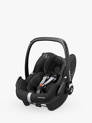 Maxi-Cosi Pebble Pro i-Size Group 0+ Essential Black Car Seat and FamilyFix2 Group 0+/1 Car Seat Base