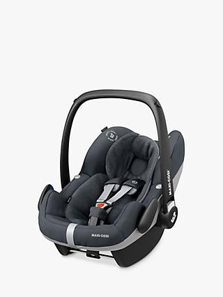 Maxi-Cosi Pebble Pro i-Size Group 0+ Essential Graphite Car Seat and FamilyFix2 Group 0+/1 Car Seat Base
