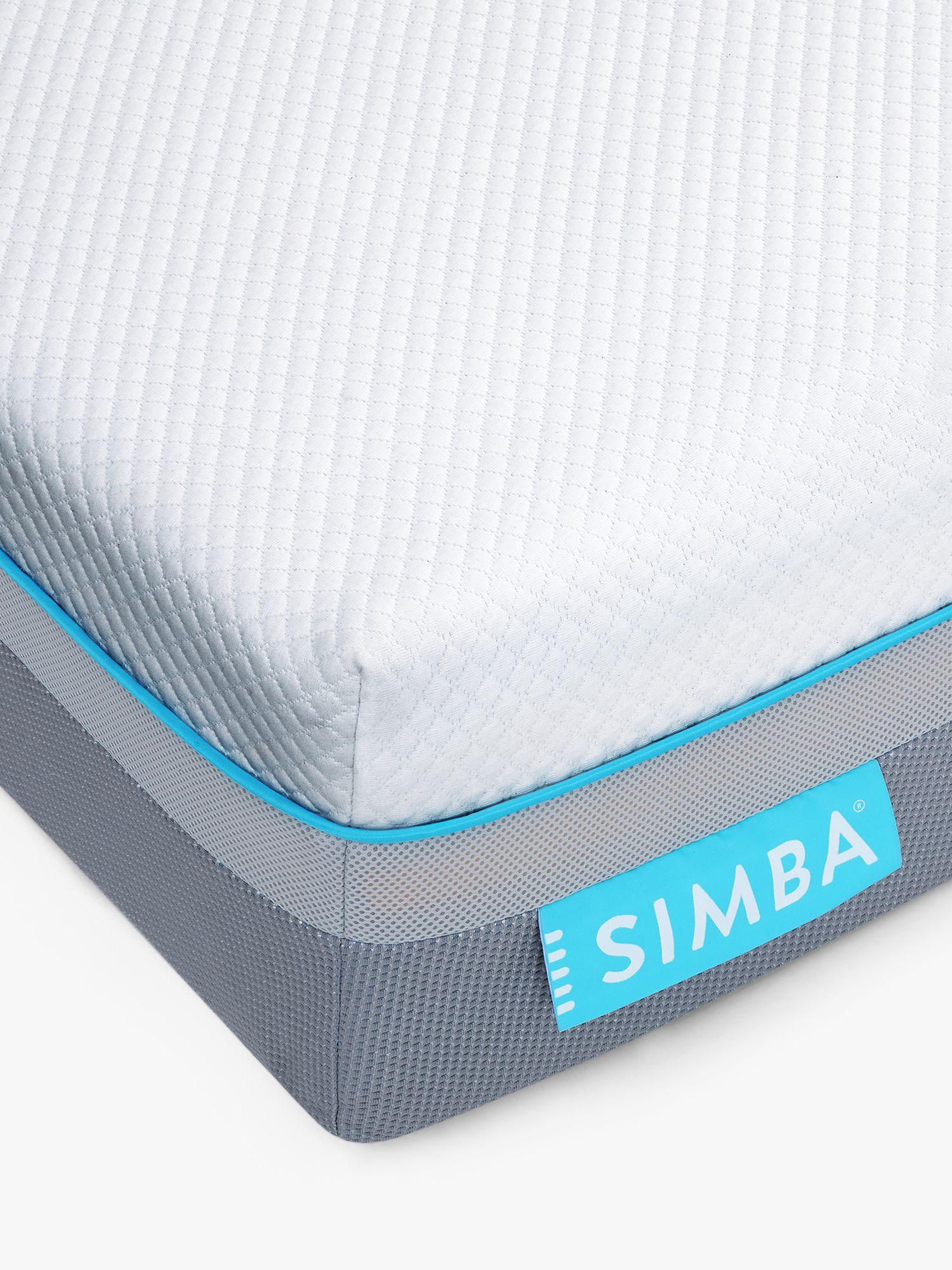 Simba Simba Hybrid® Air Cool Pocket Spring Memory Foam Mattress, Medium Tension, Single