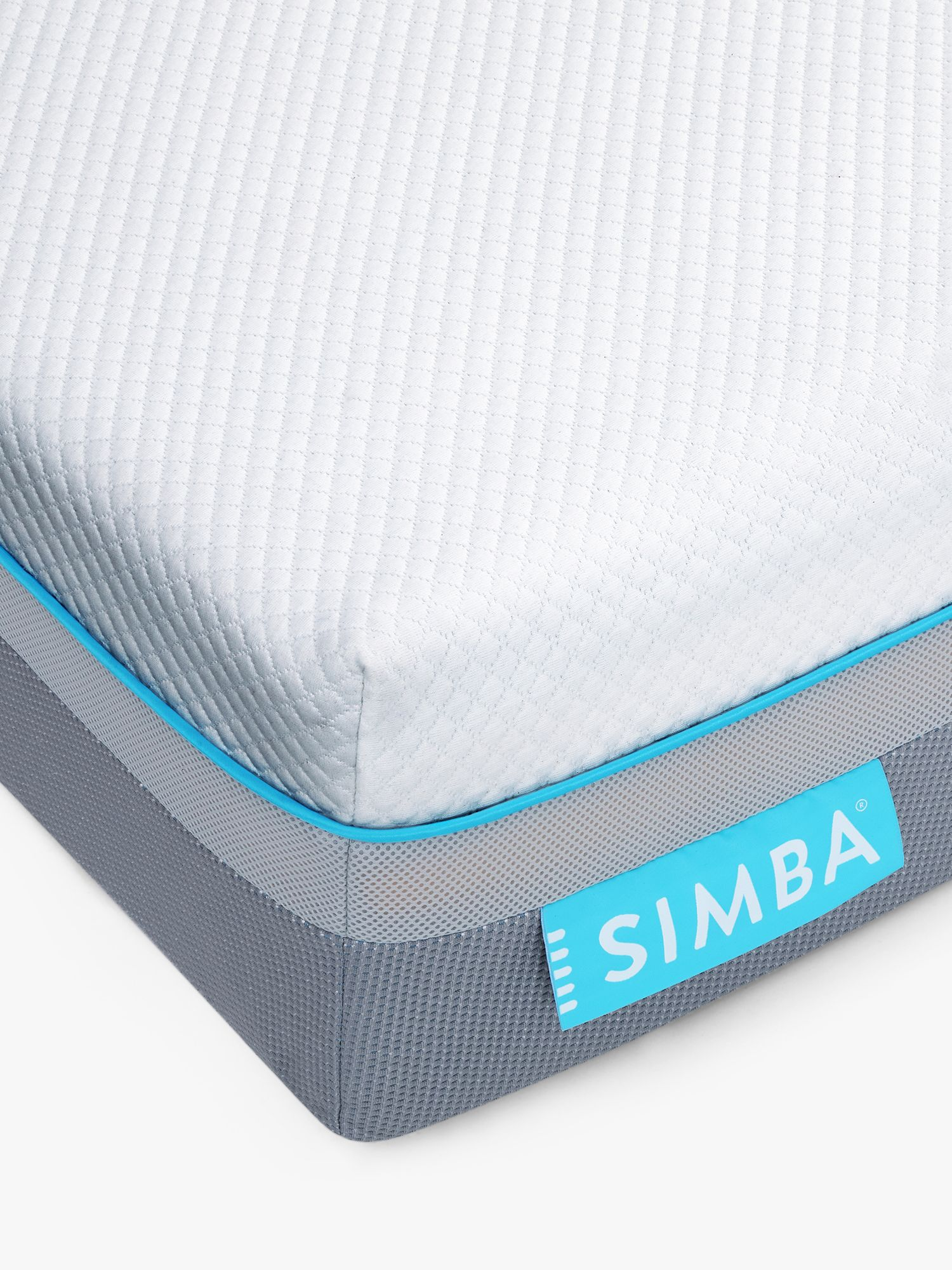 Simba Simba Hybrid® Air Cool Pocket Spring Memory Foam Mattress, Medium Tension, Double