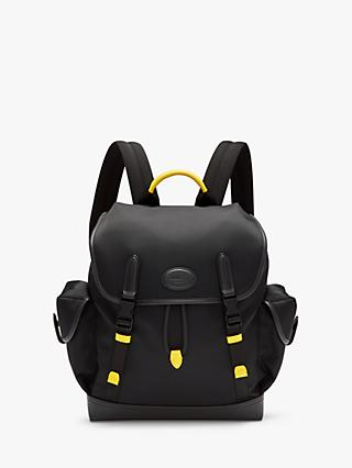 Mulberry Heritage Nylon & Smooth Calf Leather Backpack