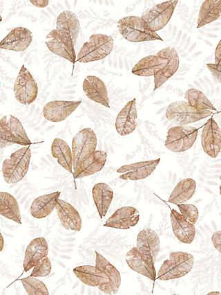 Galerie Fossil Leaf Toss Wallpaper