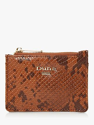 Dune Kaarah Animal Print Bi-Fold Coin Purse