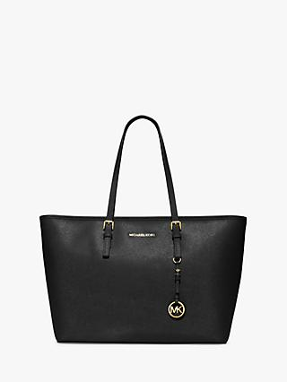MICHAEL Michael Kors Jet Set Leather Travel Tote