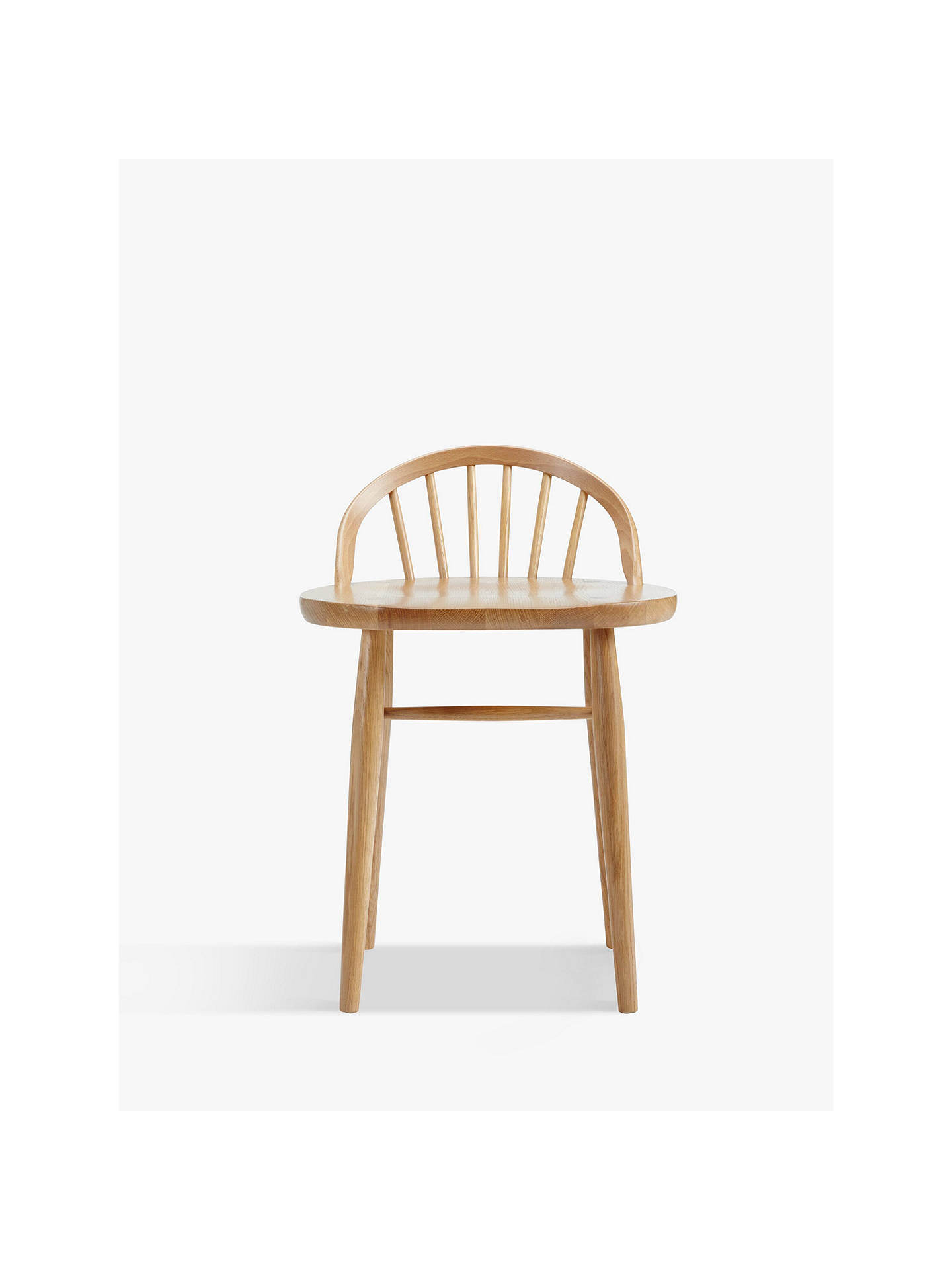 Buy ercol for John Lewis Shalstone Dressing Table Chair, Oak Online at johnlewis.com