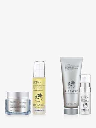 Liz Earle Superskin™ Moisturiser and Concentrate for Night Moisturiser Bundle with Gift