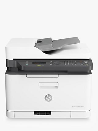HP Colour Laser 179FNW Wireless All-In-One Printer with Wi-Fi, White