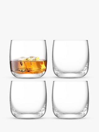 LSA International Borough Tumblers, Set of 4, 300ml, Clear
