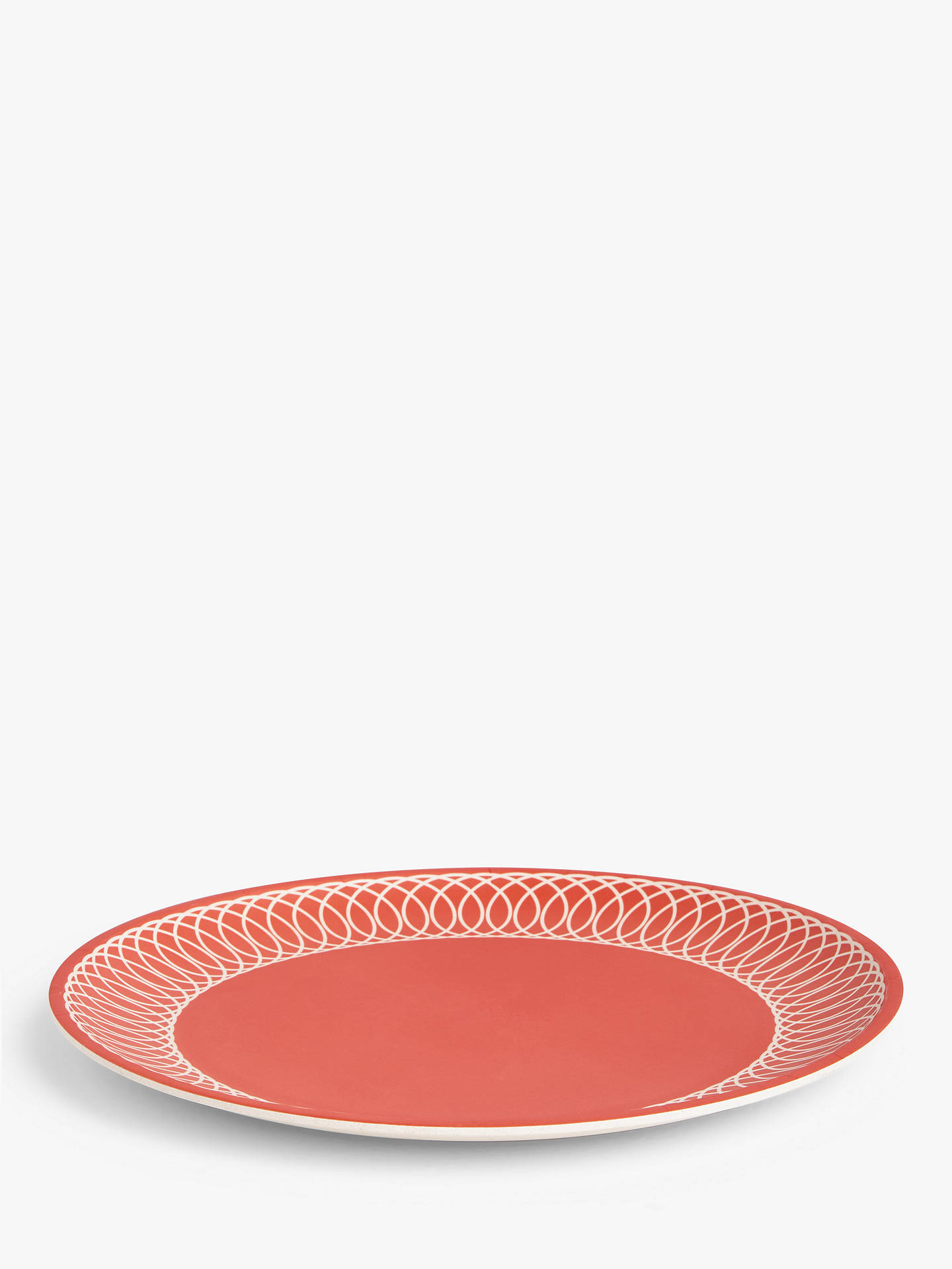 Buy LEON Bamboo Picnic Plates, 25cm, Set of 4, Assorted Online at johnlewis.com