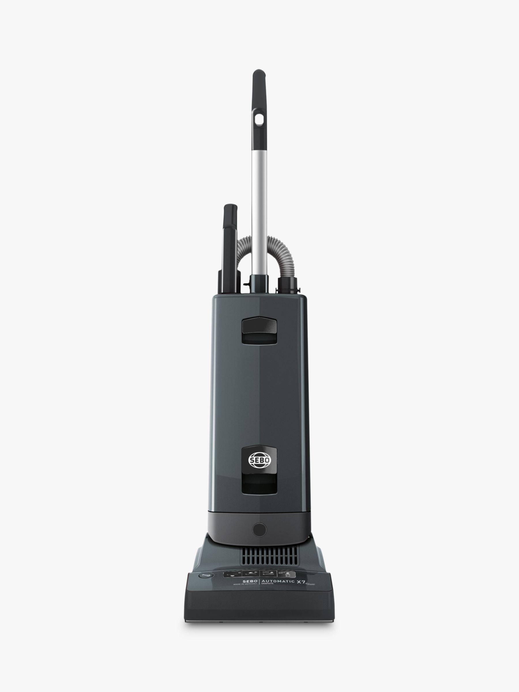 Sebo SEBO Automatic X7 ePower Upright Vacuum Cleaner, Graphite