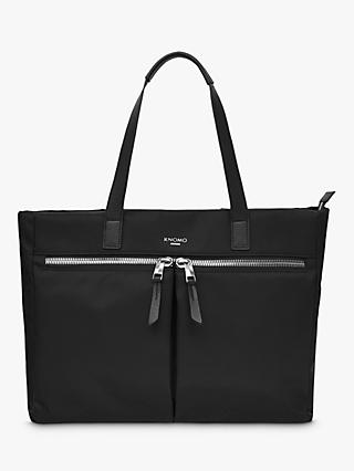 "KNOMO Blenheim Tote Bag for Laptops up to 14"", Black"