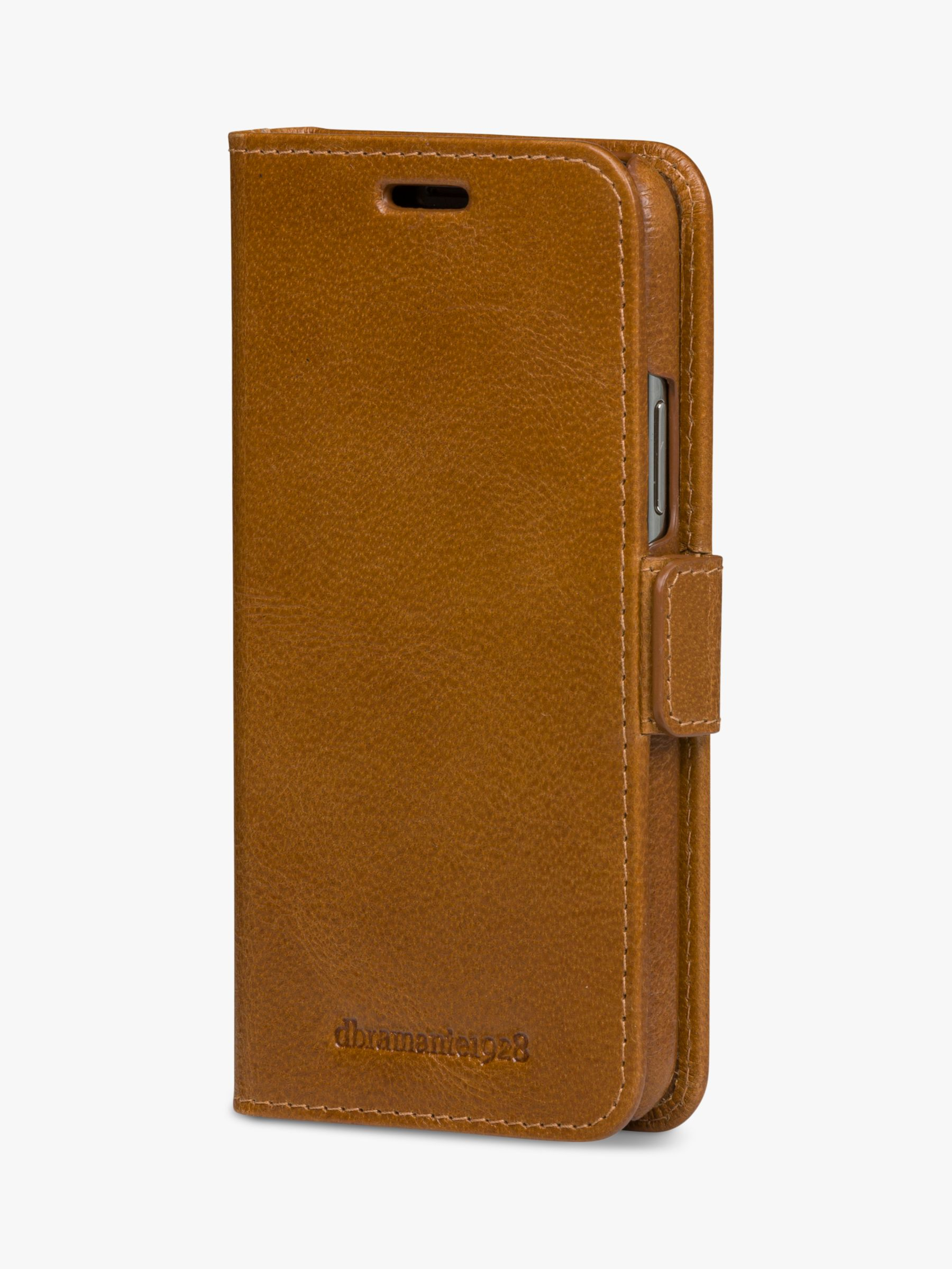 dbramante1928 MODE New York dbramante1928 Folio/Cradle Case for iPhone 11 Pro Max, Tan