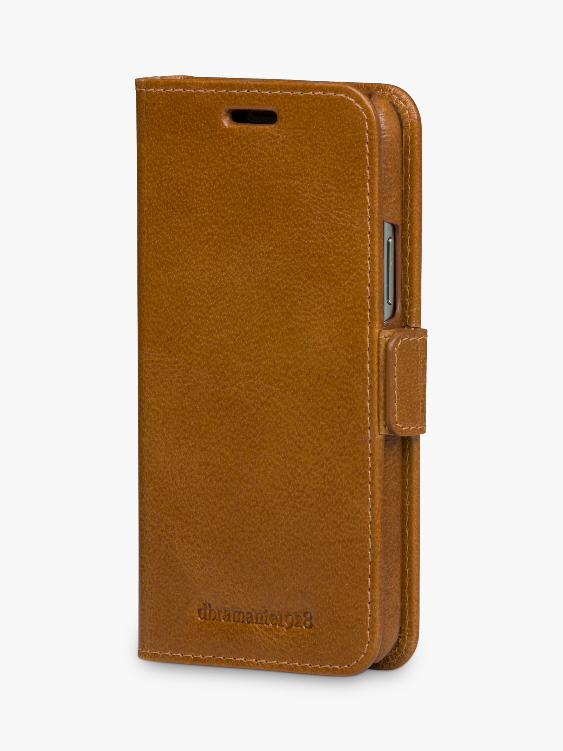 dbramante1928 MODE New York Leather dbramante1928 Folio/Cradle Case for iPhone 11 Pro, Tan