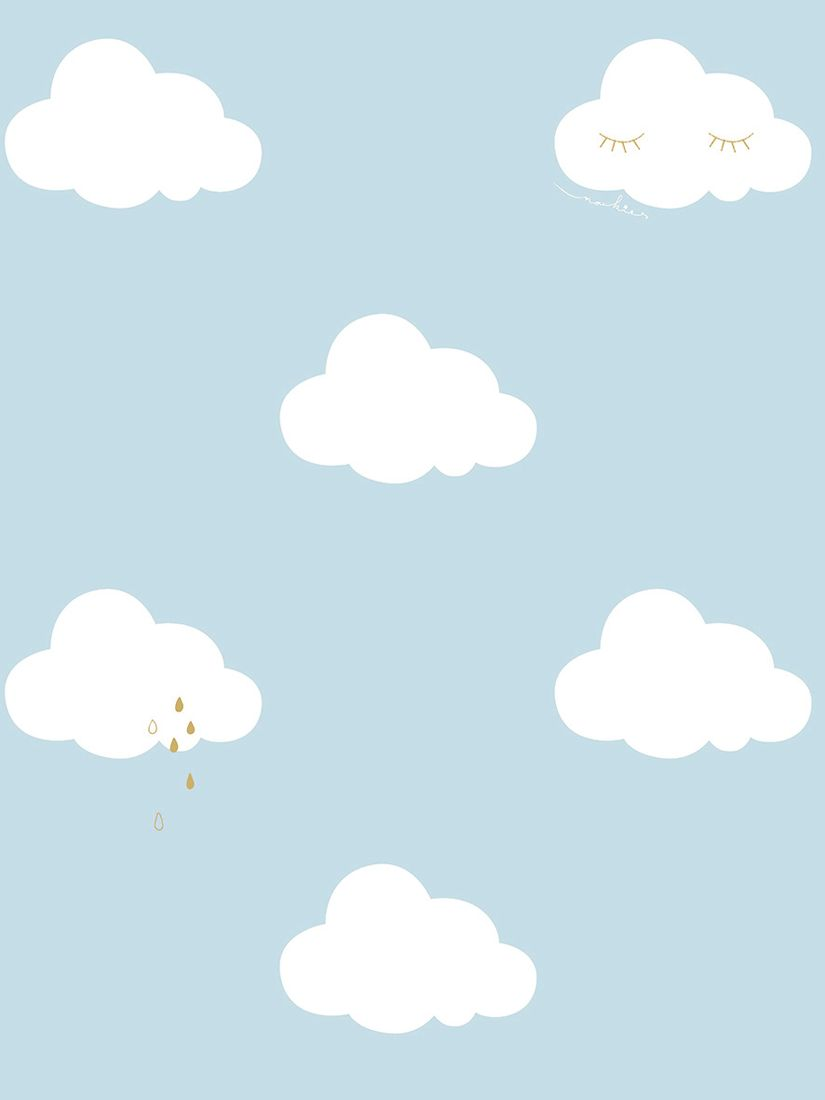 Galerie Galerie Sleepy Clouds Wallpaper