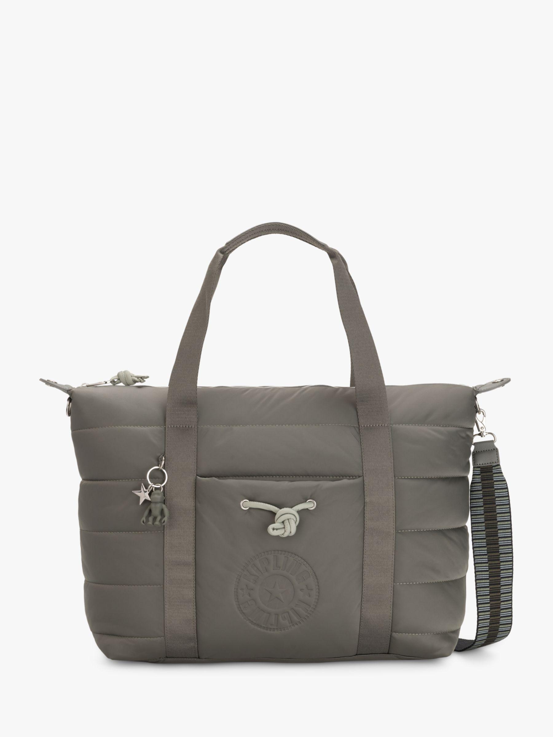 Kipling Kipling Puff Art Medium Tote Bag, Mountain Grey