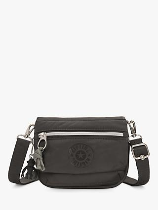 Kipling Tulia Small Convertible Cross Body Bag, Black
