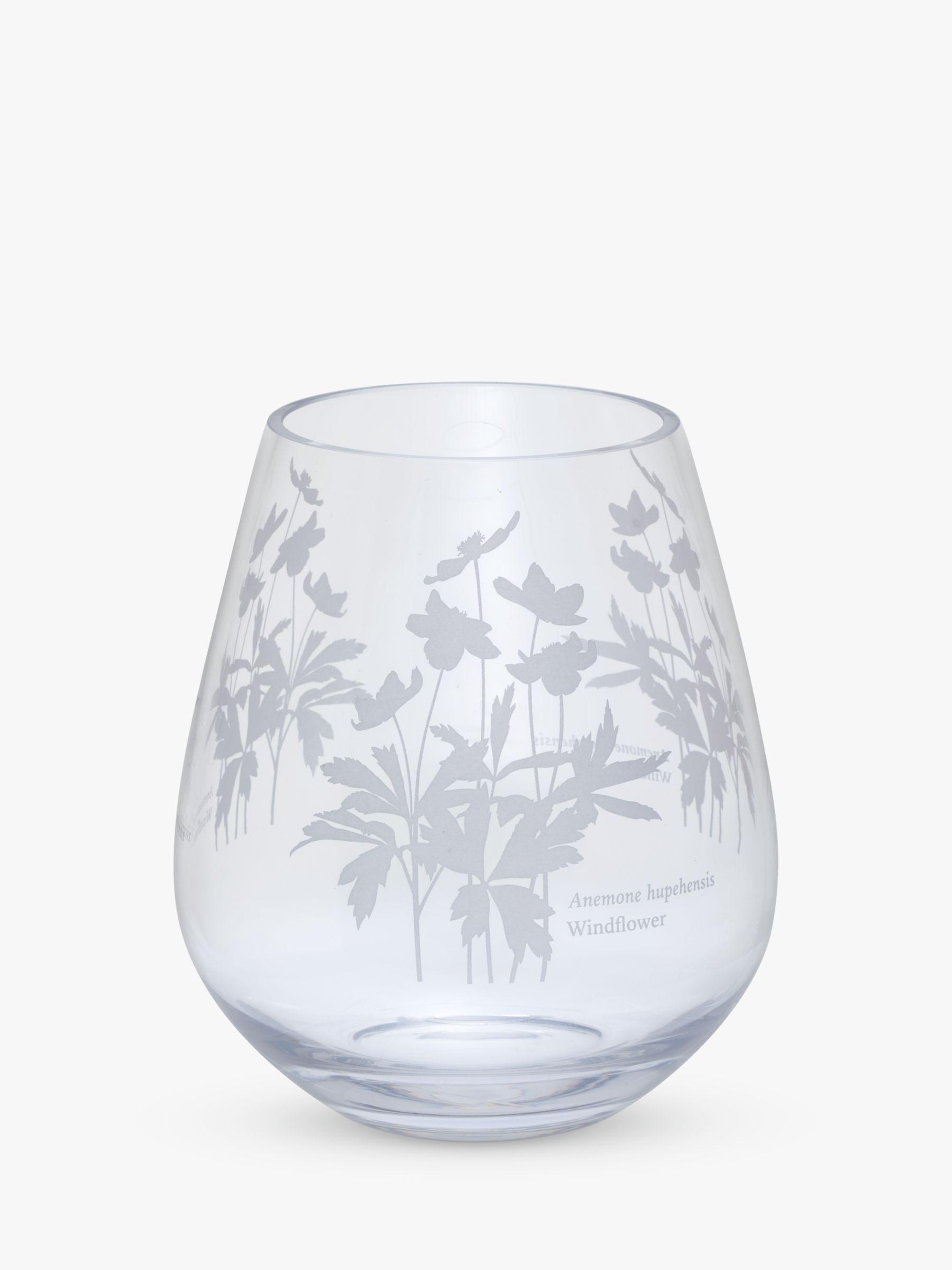 Dartington Crystal Dartington Crystal Bloom Windflower Vase, H16cm