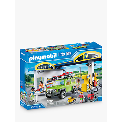 Playmobil City Life 70201 Fuel Station
