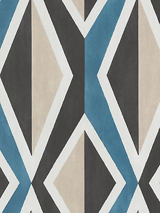 Galerie Big Ikat Stripe Wallpaper