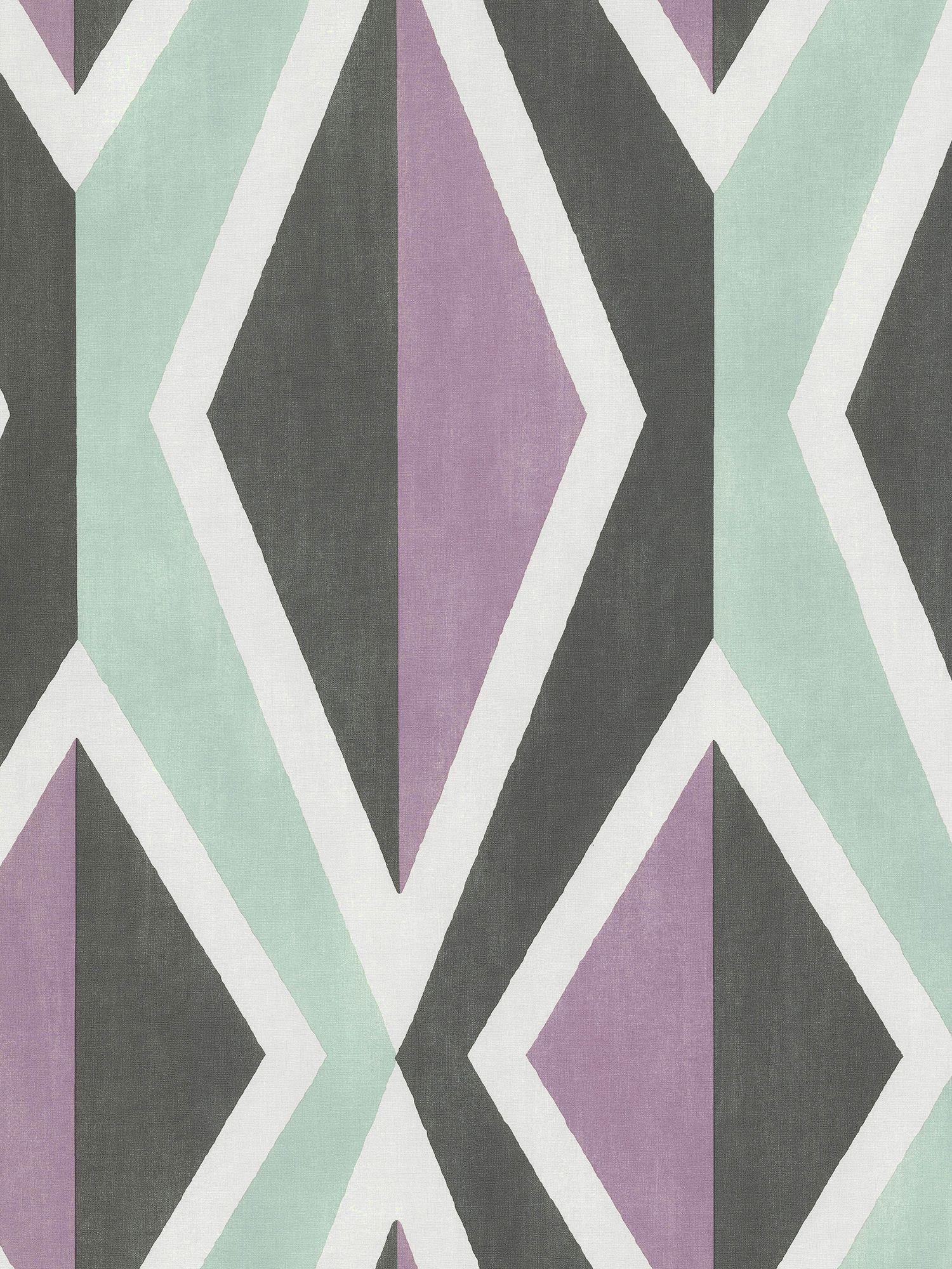 Galerie Galerie Big Ikat Stripe Wallpaper