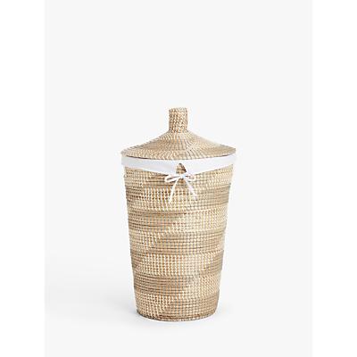 John Lewis & Partners Ali Baba Seagrass Laundry Basket