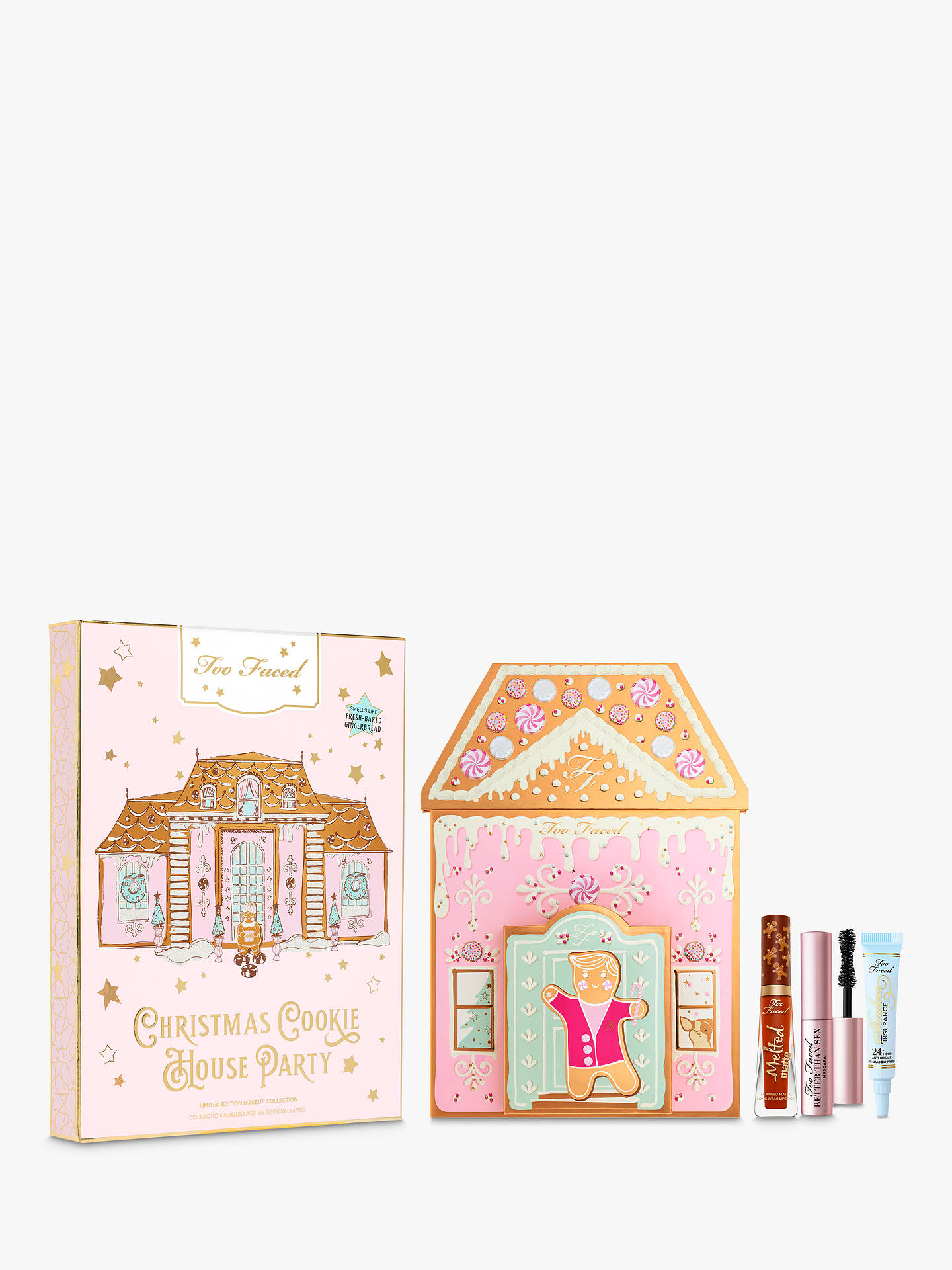 Too Faced Gingerbread House Party Makeup Gift Set by Too Faced