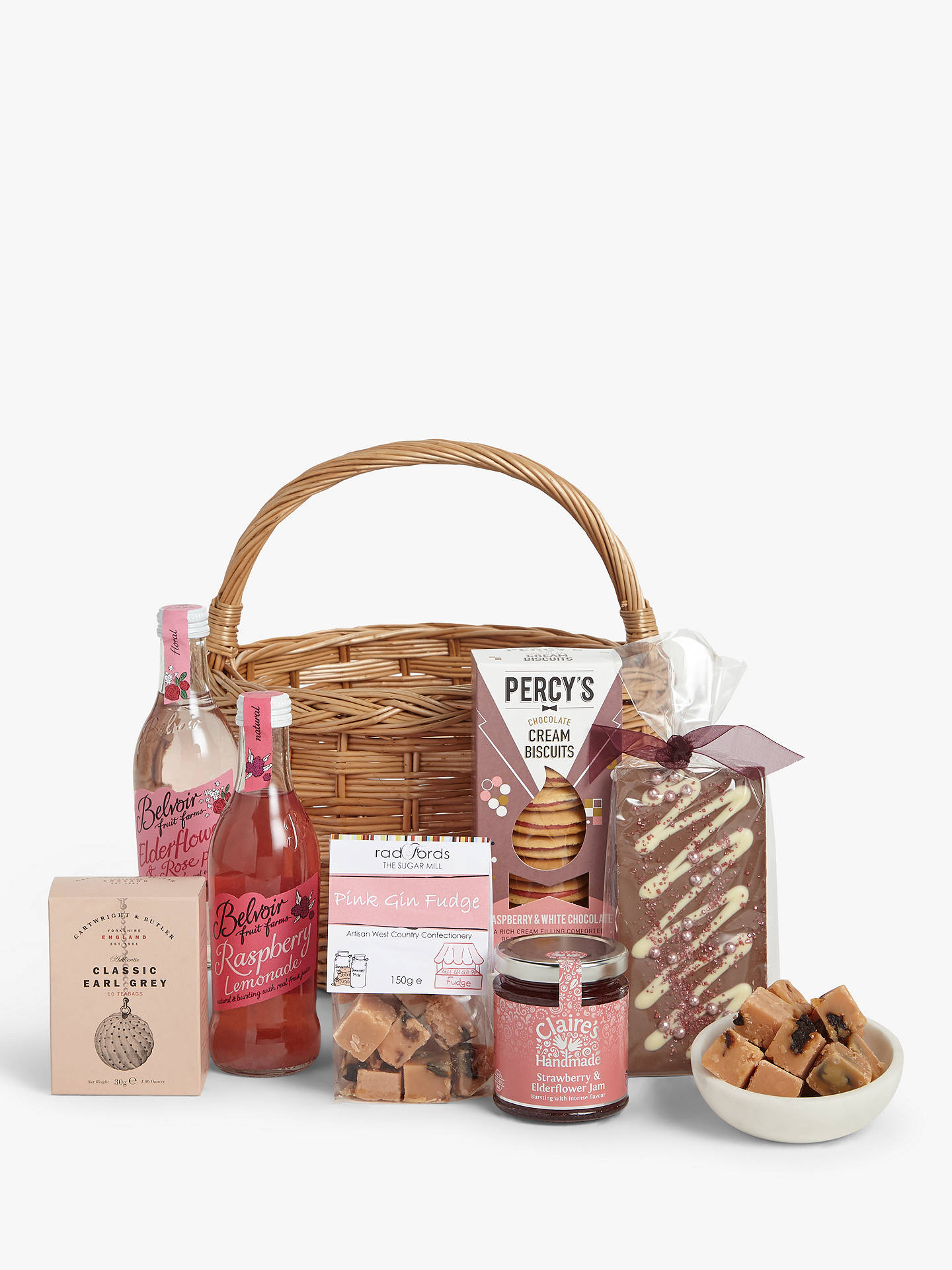 John Lewis & Partners Afternoon Tea Treats Gift Basket at ...