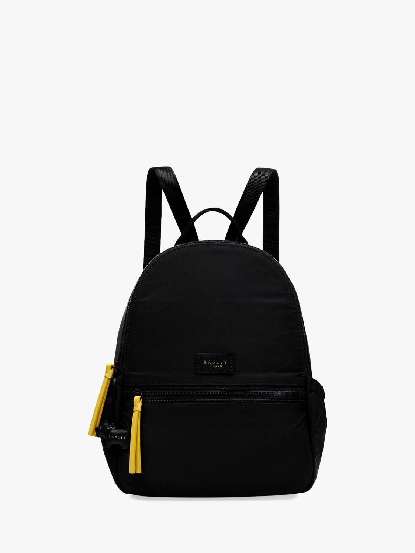 Radley Radley Radley & Friends Dog Trust Medium Zip Around Backpack, Black