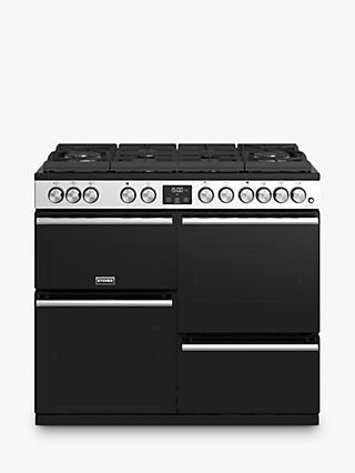 Stoves Precision Deluxe S1000GTG Dual Fuel Range Cooker, A/A/A Energy Rating