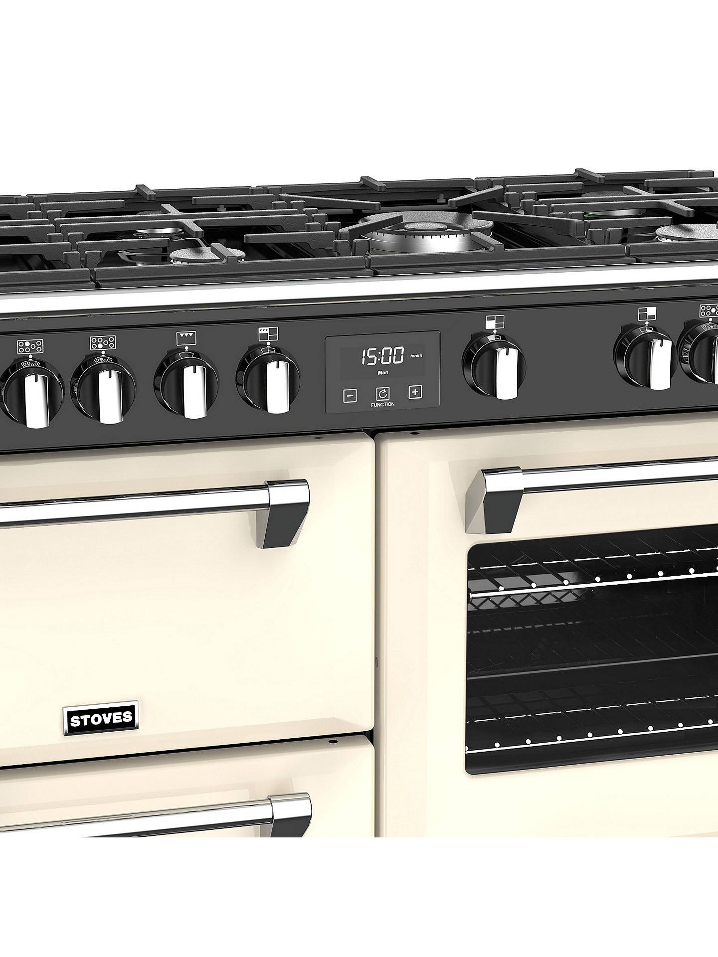 Buy Stoves Richmond S1000G Gas Range Cooker, A+/A/A Energy Rating, Classic Cream Online at johnlewis.com