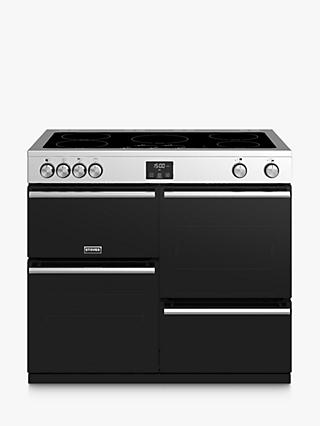 Stoves Precision Deluxe S1000Ei Electric Range Cooker with Induction Hob, A/A/A Energy Rating