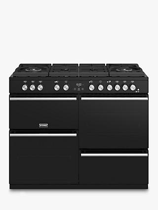 Stoves Precision Deluxe S1100GTG Dual Fuel Range Cooker, A/A/A Energy Rating
