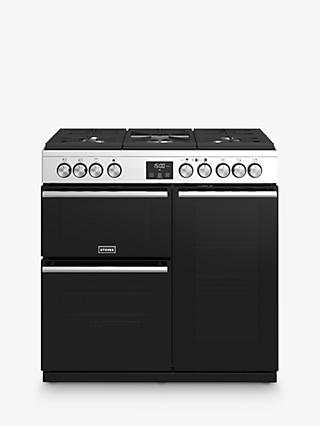 Stoves Precision Deluxe S900G Gas Range Cooker, A/A Energy Rating, Stainless Steel