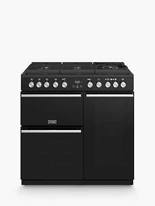Stoves Precision Deluxe S900GTG Dual Fuel Range Cooker, A/A/A Energy Rating