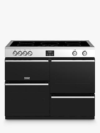 Stoves Precision Deluxe S1100Ei Electric Range Cooker with Induction Hob, A/A/A Energy Rating