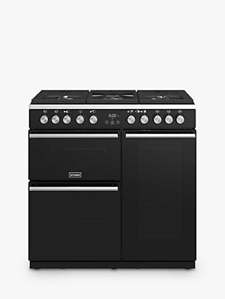 Stoves Precision Deluxe S900DF Dual Fuel Range Cooker, A/A/A Energy Rating