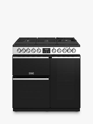 Stoves Precision DX S900GTG Dual Fuel Range Cooker, A/A/A Energy Rating