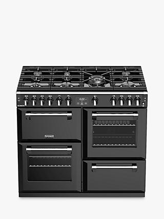 Stoves Richmond S1000G 100cm Gas Range Cooker, A*/A/A Energy Rating, Black