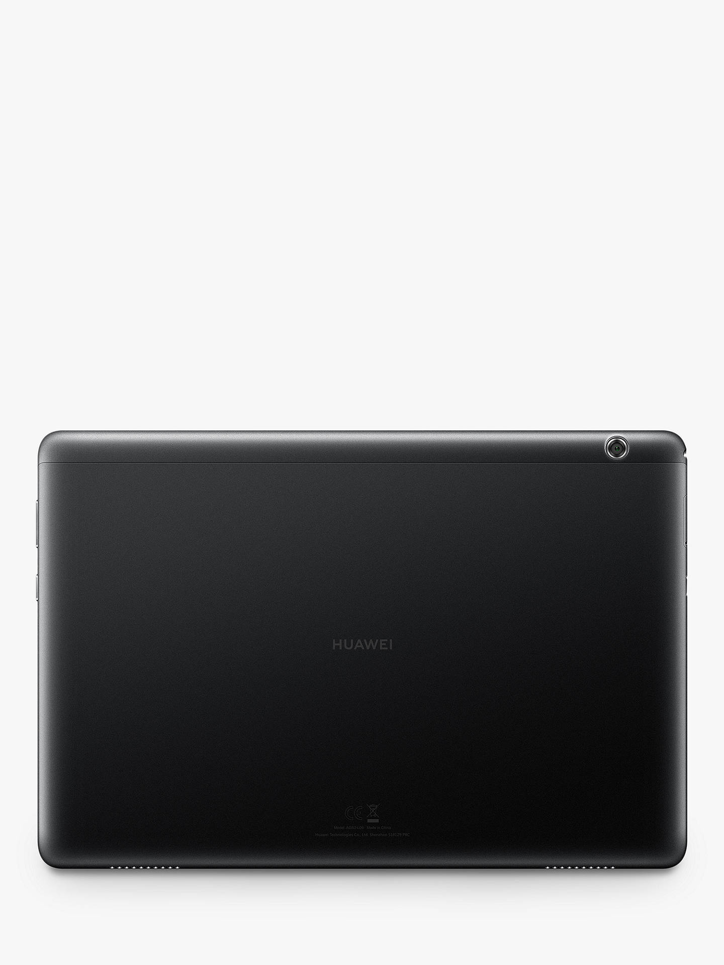 "Buy Huawei MediaPad T5 10 (2019) Tablet, Android, Kirin 659, 4GB RAM, 64GB Storage, 10.1"", Black Online at johnlewis.com"